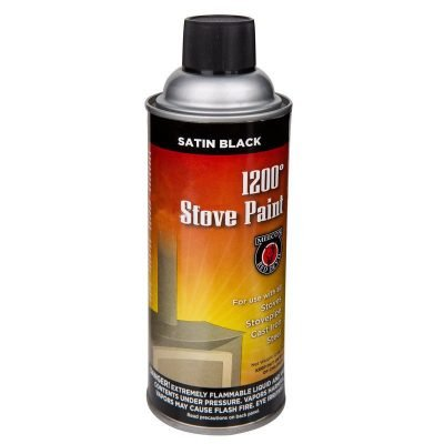 stove paint spray black product photography