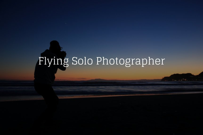 Flying Solo Photographer