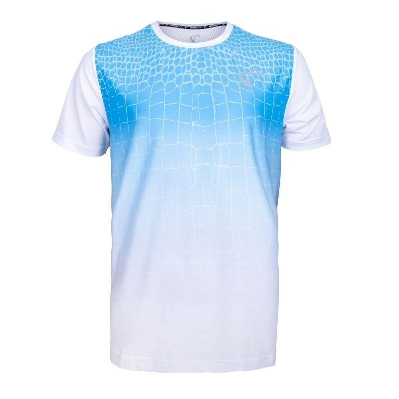ghost mannequin imaging blue shirt